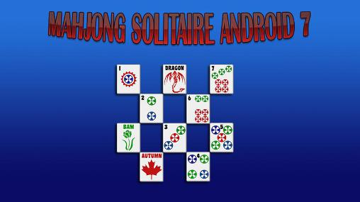 Mahjong solitaire Android 7 poster