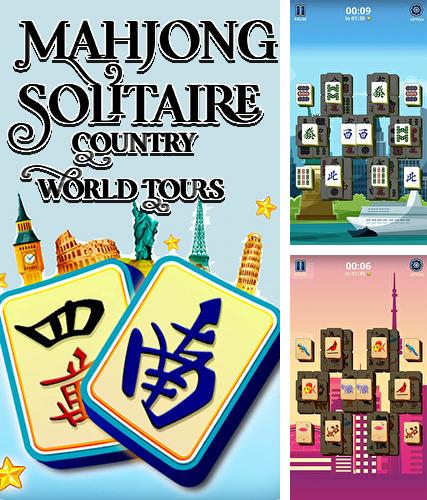Mahjong solitaire: Country world tours