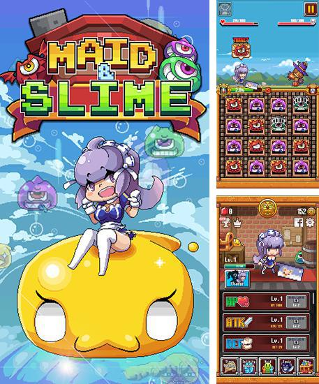 In addition to the game Robby rush for Android phones and tablets, you can also download Maid and slime for free.
