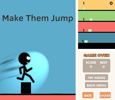 In addition to the game Rune Raiders for Android phones and tablets, you can also download Make them jump for free.