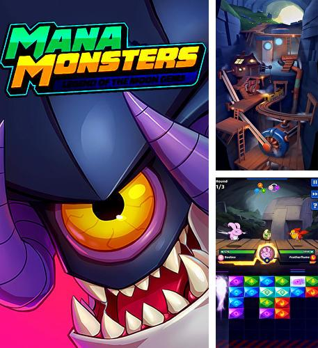 Mana monsters: Legend of the Moon gems