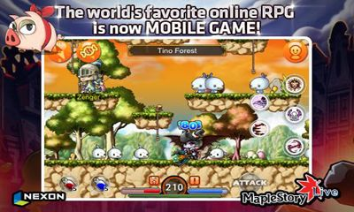 Download MapleStory Live Deluxe Android free game.