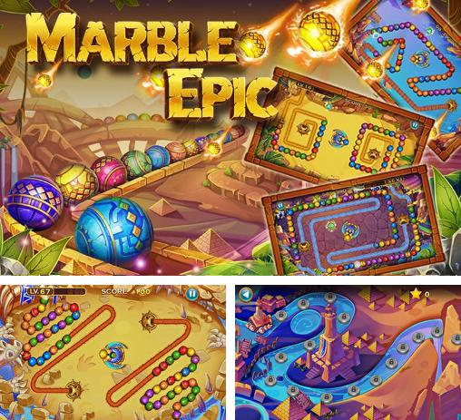 In addition to the game Marble duel for Android phones and tablets, you can also download Marble epic for free.