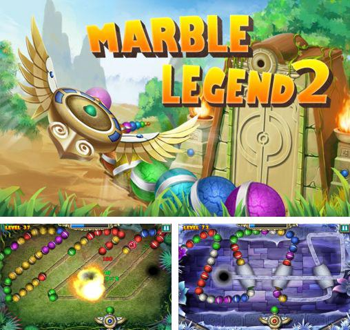 In addition to the game Zuma revenge for Android phones and tablets, you can also download Marble legend 2 for free.