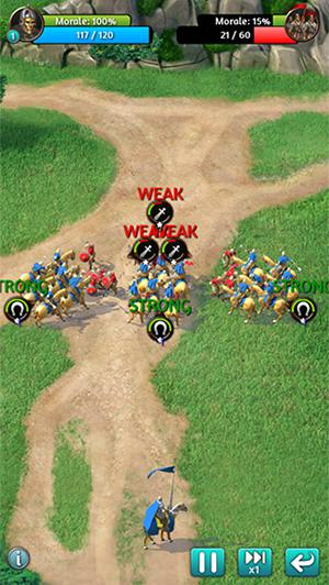 Screenshots von March of empires für Android-Tablet, Smartphone.