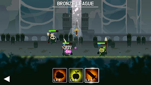 Android タブレット、携帯電話用Marimo league: Be almighty and watch combatsのスクリーンショット。