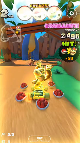 Mario kart tour screenshot 1