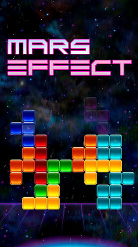Mars effect: The block puzzle poster