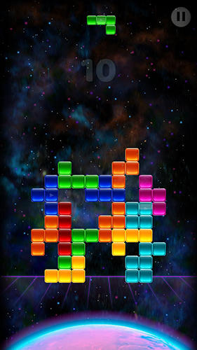 Гра Mars effect: The block puzzle на Android - повна версія.