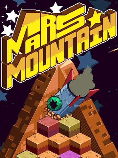 Mars mountain poster