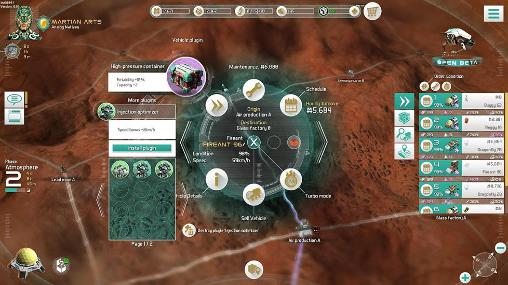 Screenshots do Mars tomorrow - Perigoso para tablet e celular Android.