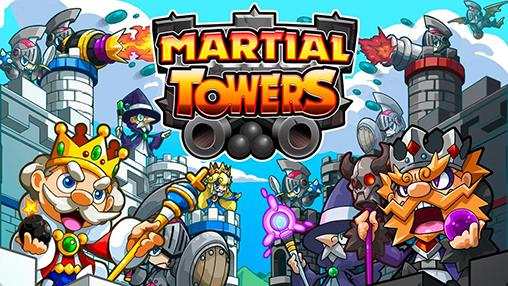 Martial towers обложка