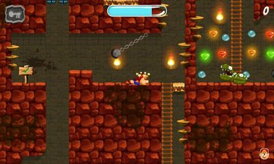 Screenshots of the Marv The Miner 3: The Way Back for Android tablet, phone.