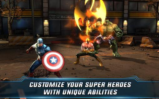 Jogue Marvel: Avengers alliance 2 para Android. Jogo Marvel: Avengers alliance 2 para download gratuito.