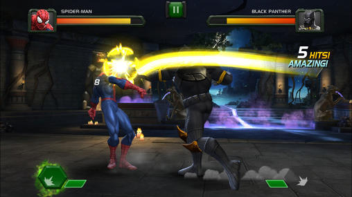 Screenshots von Marvel: Contest of champions für Android-Tablet, Smartphone.