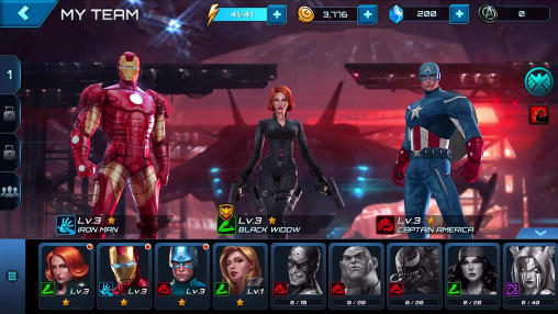 Screenshots von Marvel: Future fight für Android-Tablet, Smartphone.