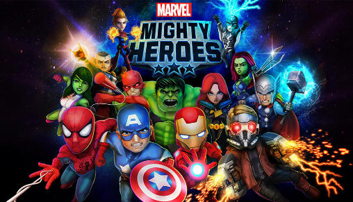 Marvel: Mighty heroes poster