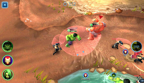 Marvel: Mighty heroes screenshot 1