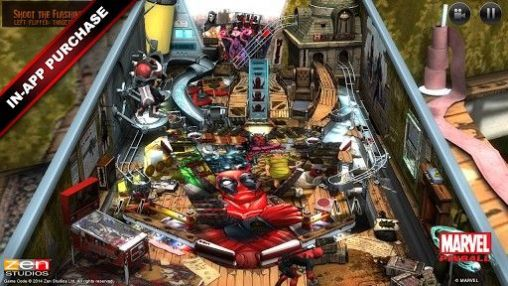Marvel pinball screenshot 1