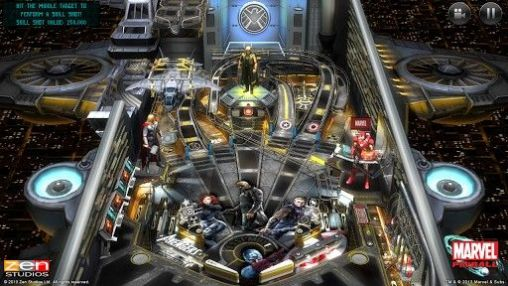 Marvel pinball screenshot 2