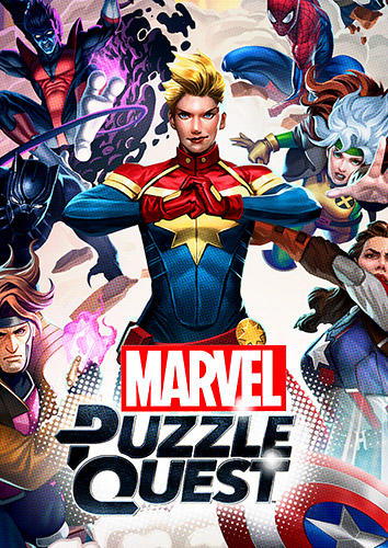 Marvel puzzle quest обложка