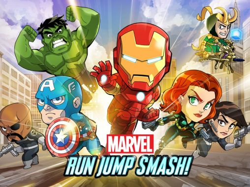 Marvel: Run jump smash!