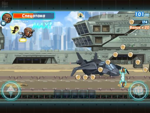 Marvel: Run jump smash! screenshot 1