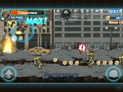 Marvel: Run jump smash! screenshot 2