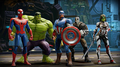 Screenshots do Marvel strike force - Perigoso para tablet e celular Android.