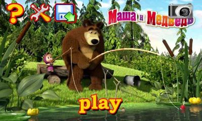 Masha and the Bear. Puzzles