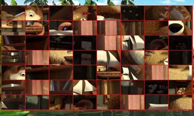 Capturas de pantalla de Masha and the Bear. Puzzles para tabletas y teléfonos Android.