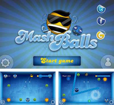 In addition to the game Gluddle for Android phones and tablets, you can also download Mashballs for free.