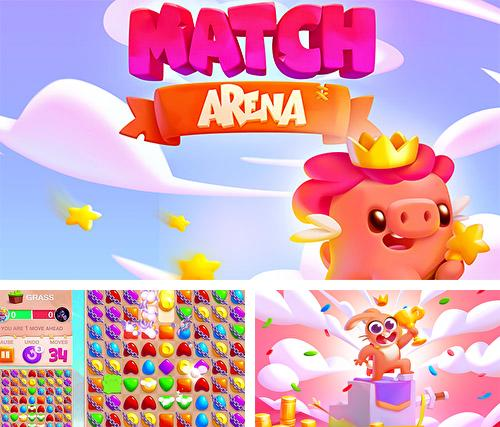 Match arena: Duel the kings of puzzle games