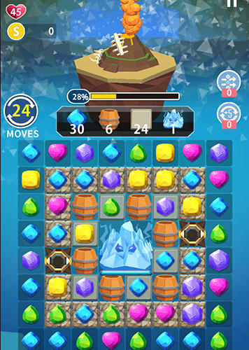 Match Earth: Age of jewels für Android spielen. Spiel Match Earth: Ära der Juwelen kostenloser Download.