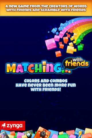 Matching with friends poster