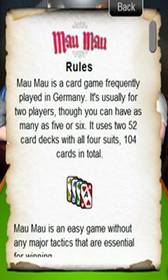 Download Mau Mau Android free game.
