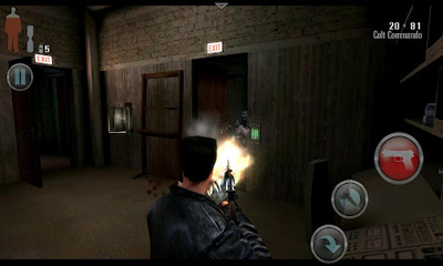 Screenshots von Max Payne Mobile für Android-Tablet, Smartphone.