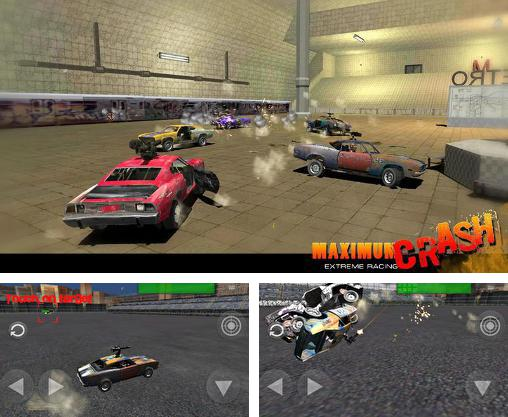 In addition to the game World of derby for Android phones and tablets, you can also download Maximum crash: Extreme racing for free.