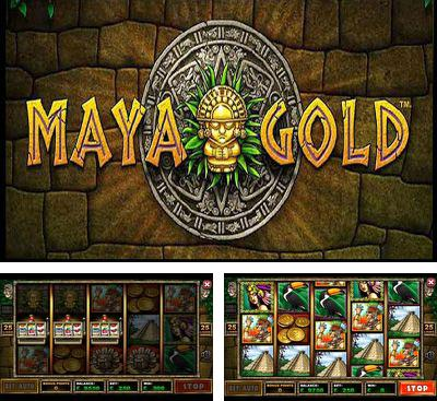 In addition to the game Slotomania for Android phones and tablets, you can also download Maya Gold for free.