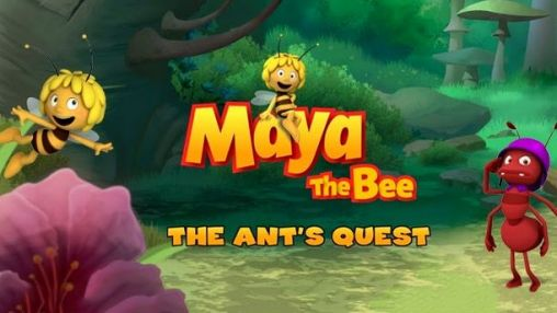 Maya the bee: The ant's quest poster