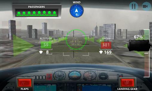 Screenshots do Mayday! 2: Terror in the sky. Emergency landing - Perigoso para tablet e celular Android.