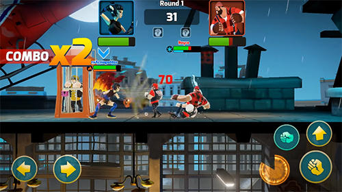 Screenshots von Mayhem combat: Fighting game für Android-Tablet, Smartphone.