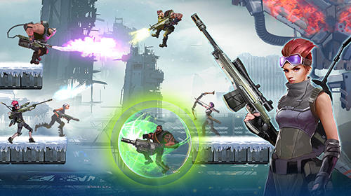 Screenshots von Mayhem: PvP arena shooter für Android-Tablet, Smartphone.