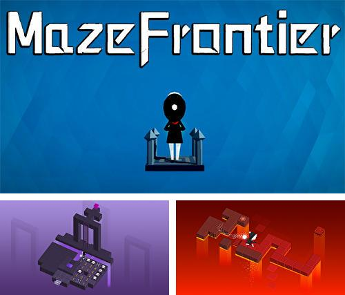 Maze frontier: Minesweeper puzzle