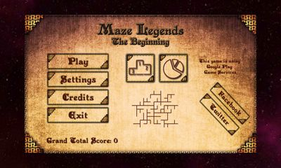Kostenloses Android-Game Labyrinth Legenden: Der Anfang. Vollversion der Android-apk-App Hirschjäger: Die Maze Legends The Beginning für Tablets und Telefone.