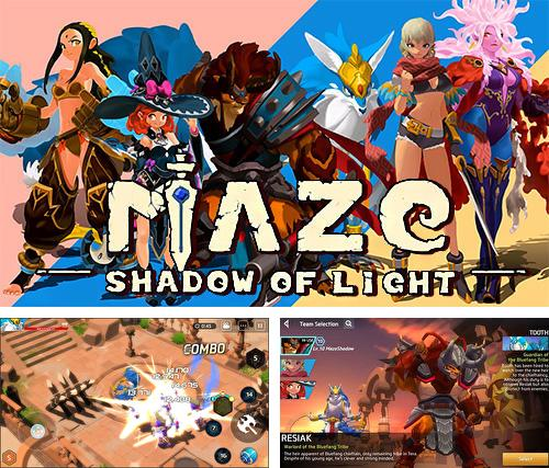 In addition to the game Maze: Shadow of light for Android, you can download other free Android games for Lenovo A526.