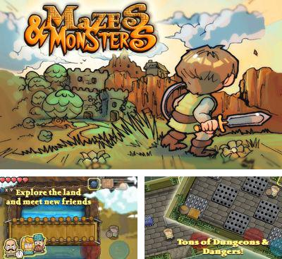 In addition to the game ARC Squadron Redux for Android phones and tablets, you can also download Mazes & Monsters for free.
