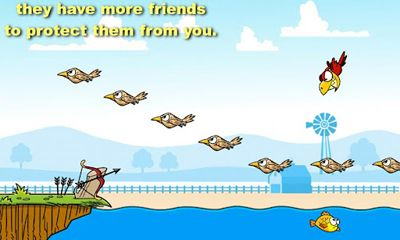 Геймплей Meany Birds для Android телефону.