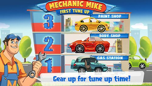 Mechanic Mike: First tune up für Android spielen. Spiel Mechaniker Mike: Das erste Tuning kostenloser Download.