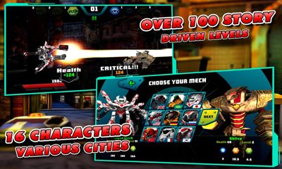 Screenshots von Toy robot war: Robot sickle für Android-Tablet, Smartphone.